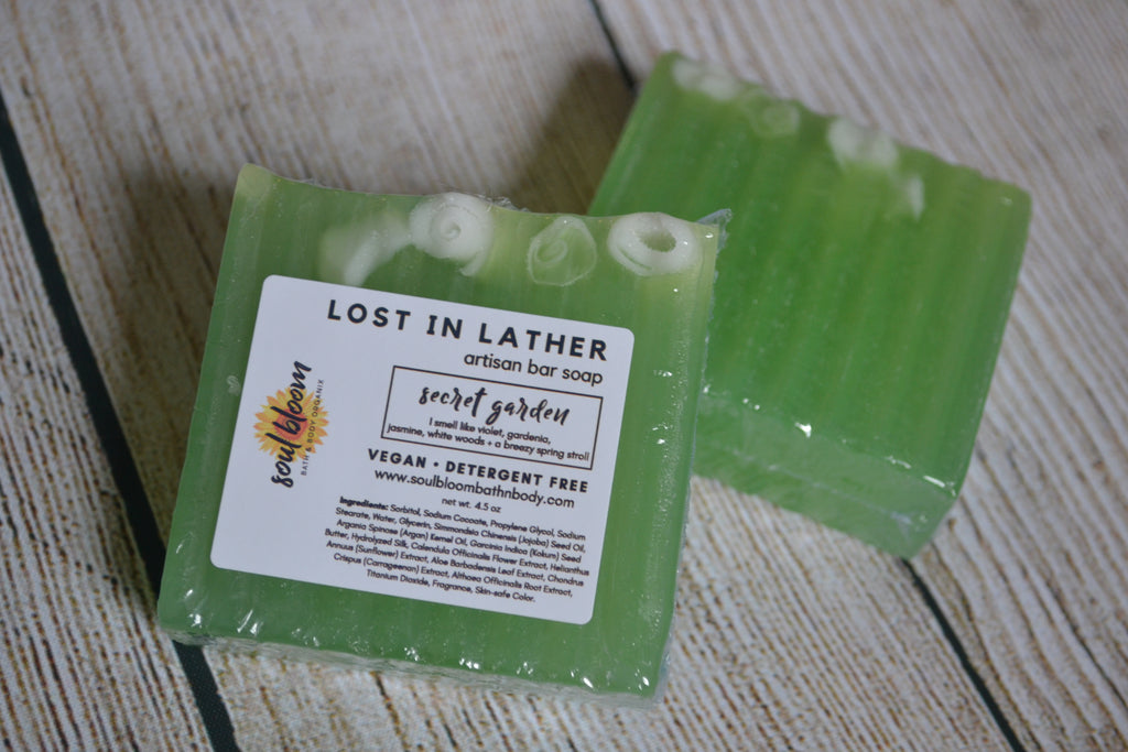 Lost in Lather — Secret Garden