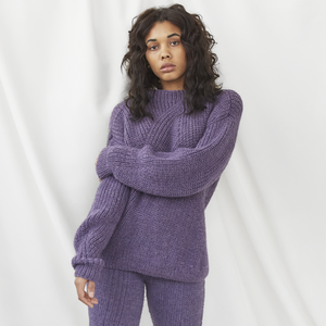 Slabada Sweater Violet