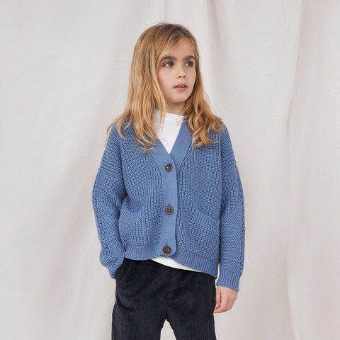 Baby & Kids Preila Cardigan Baltic Blue