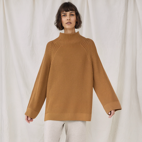 Milda Turtleneck Camel