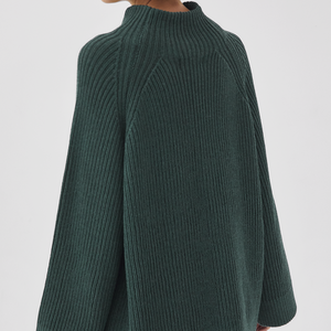 Milda Turtleneck Pine