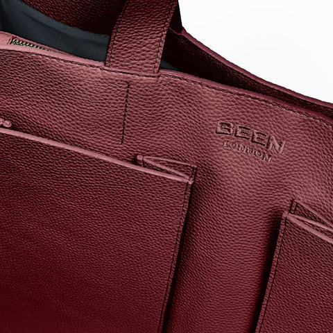London Fields Tote Red Wine