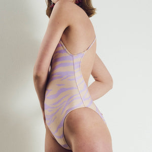 Fitzgerald One Piece Lavender Animal