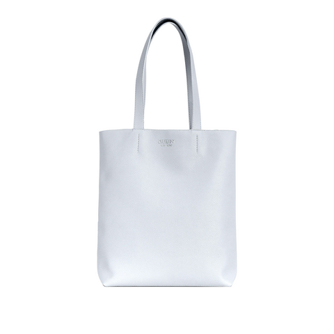 Broadway Market Tote White Pebble