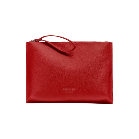 Hoxton Clutch Coral Red