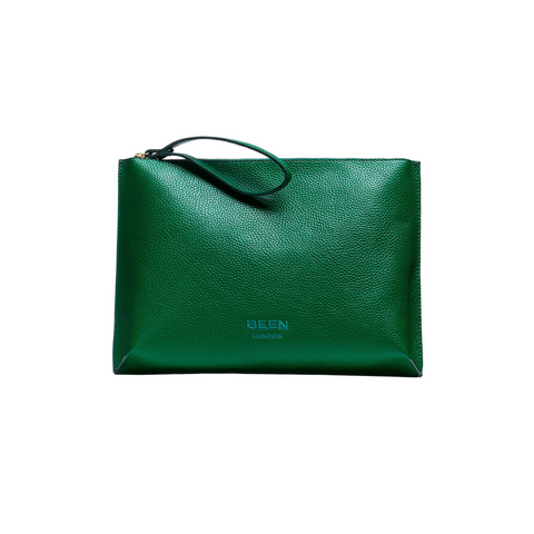 Hoxton Clutch Rainforest Green
