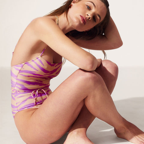 Lennox One Piece Lavender Animal