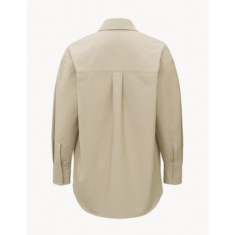 Relaxed Blouse Pleated Detail