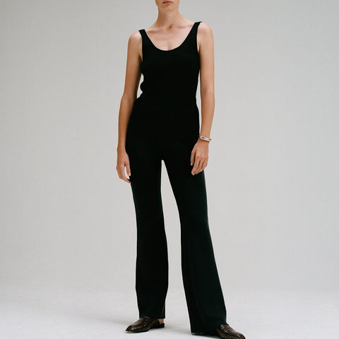 Relaxed Knitted Trousers