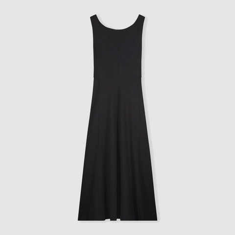 Ecovero dress with contrast details
