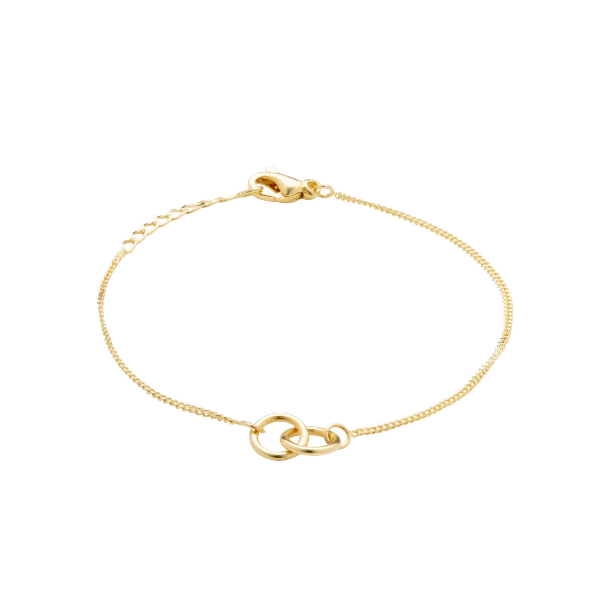 Eternal Connection 14KT Solid Gold Bracelet