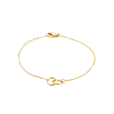 Eternal Connection Gold Plated Bracelet