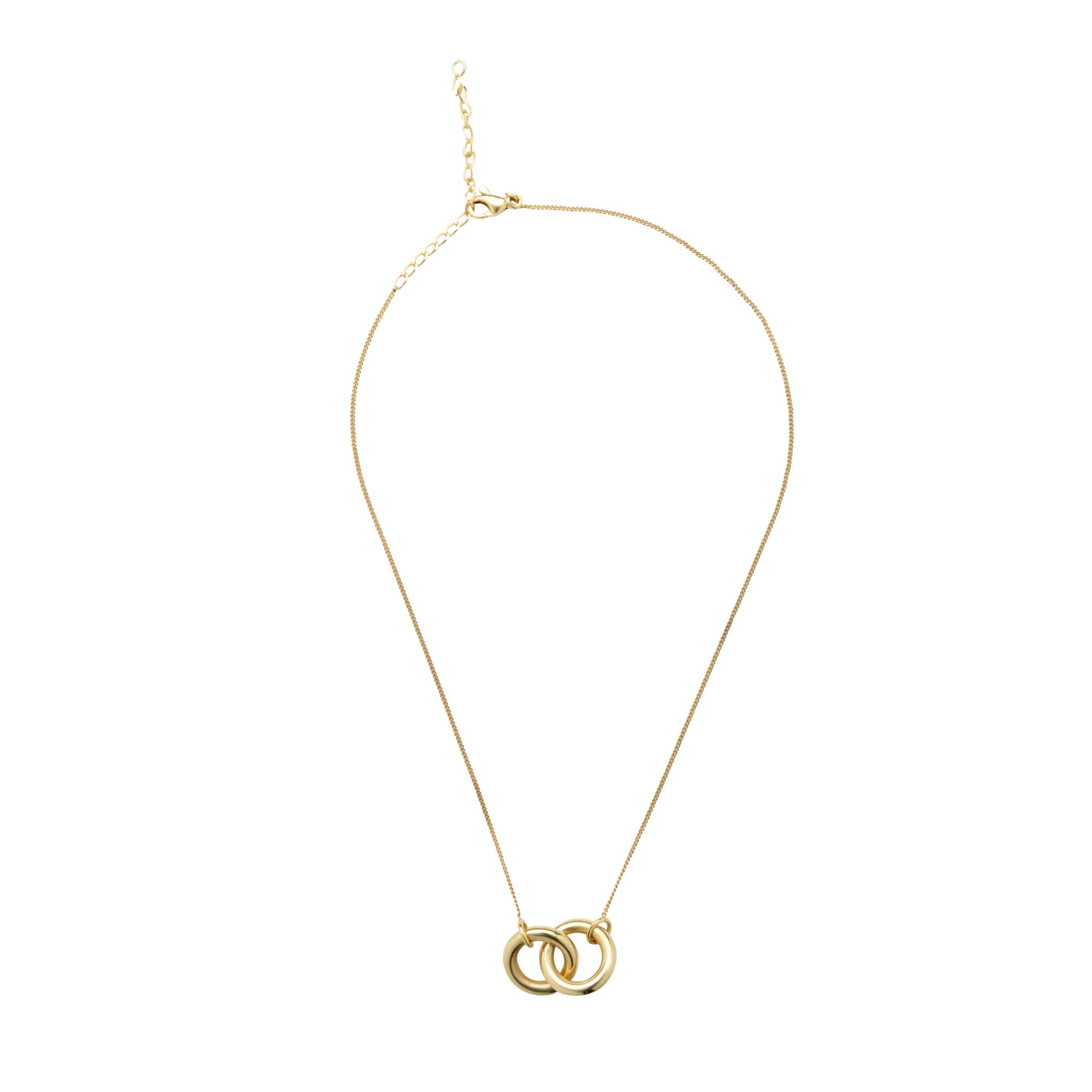 Eternal Connection 14KT Solid Gold Necklace (Large)