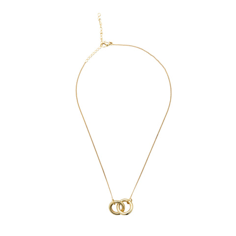 Eternal Connection Gold Plated Necklace (Large)