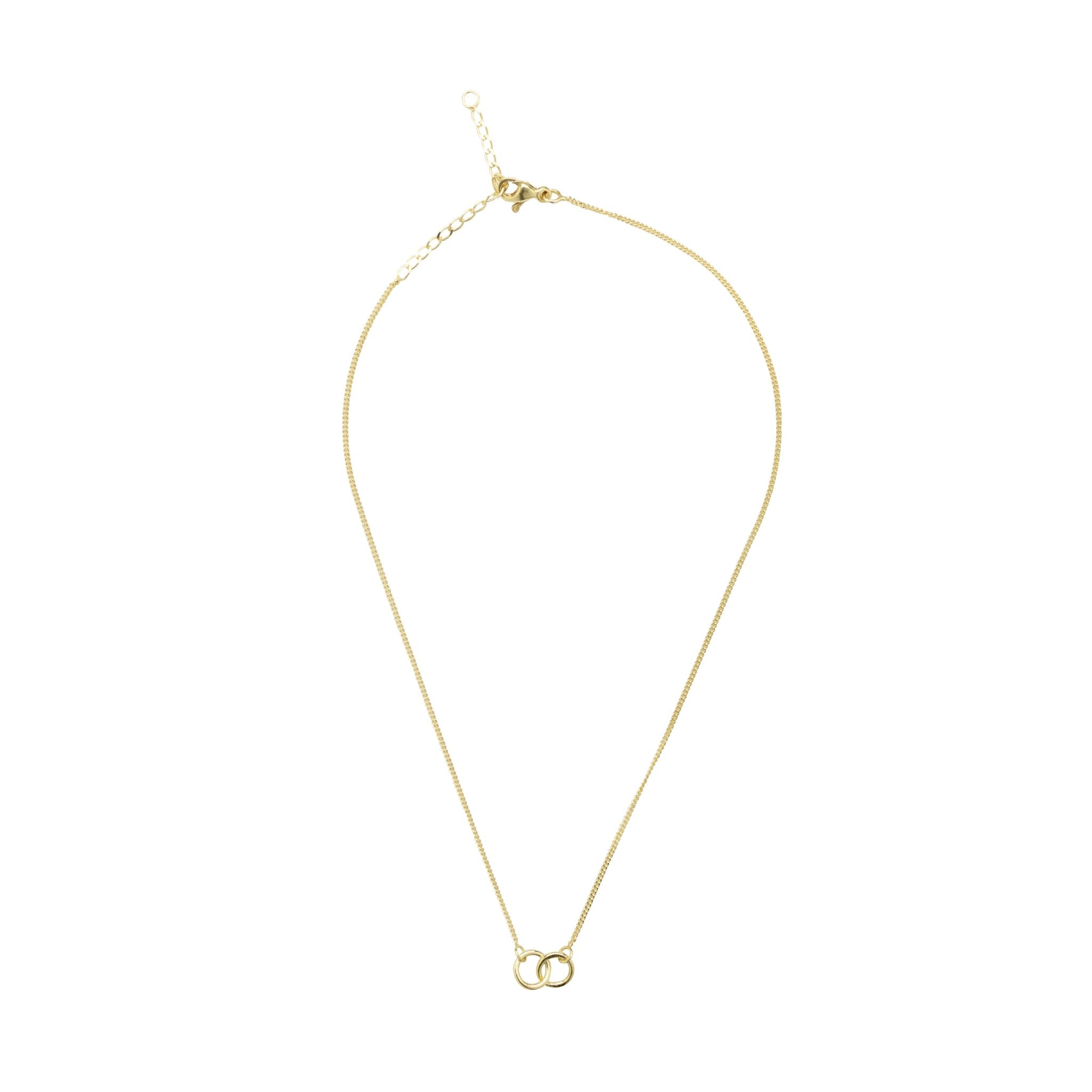 Eternal Connection 14KT Solid Gold Necklace (Small)