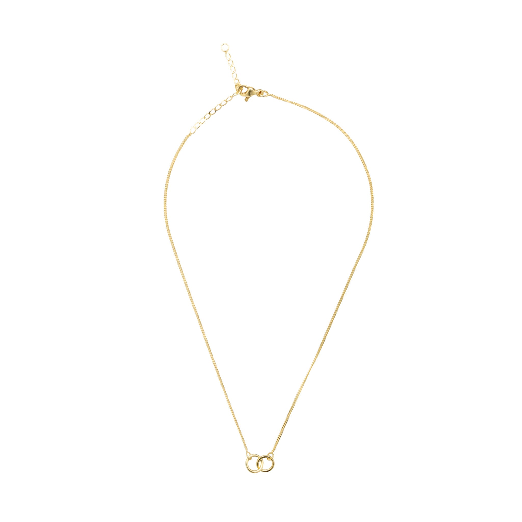 Eternal Connection Gold Plated Necklace (Small)