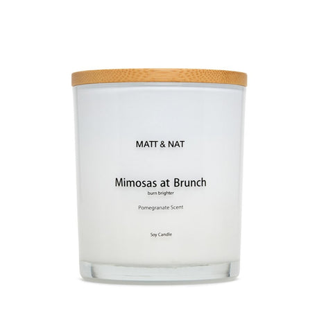 Mimosas At Brunch Candle