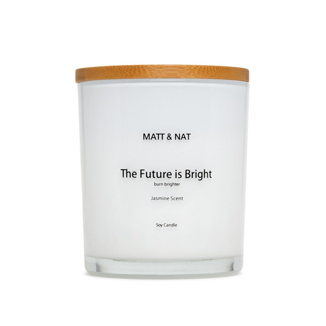 The Future Is Bright Candle
