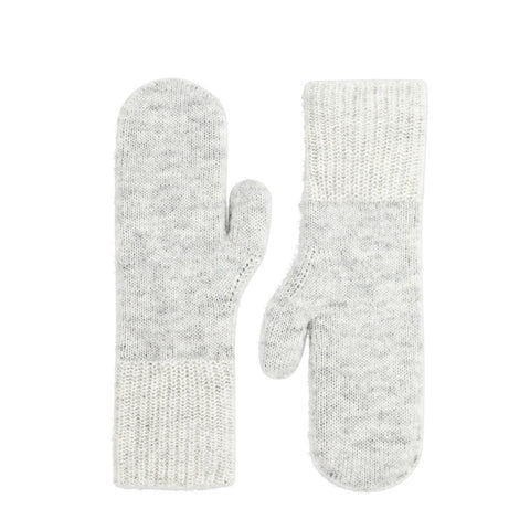 Knitted Mittens Grey
