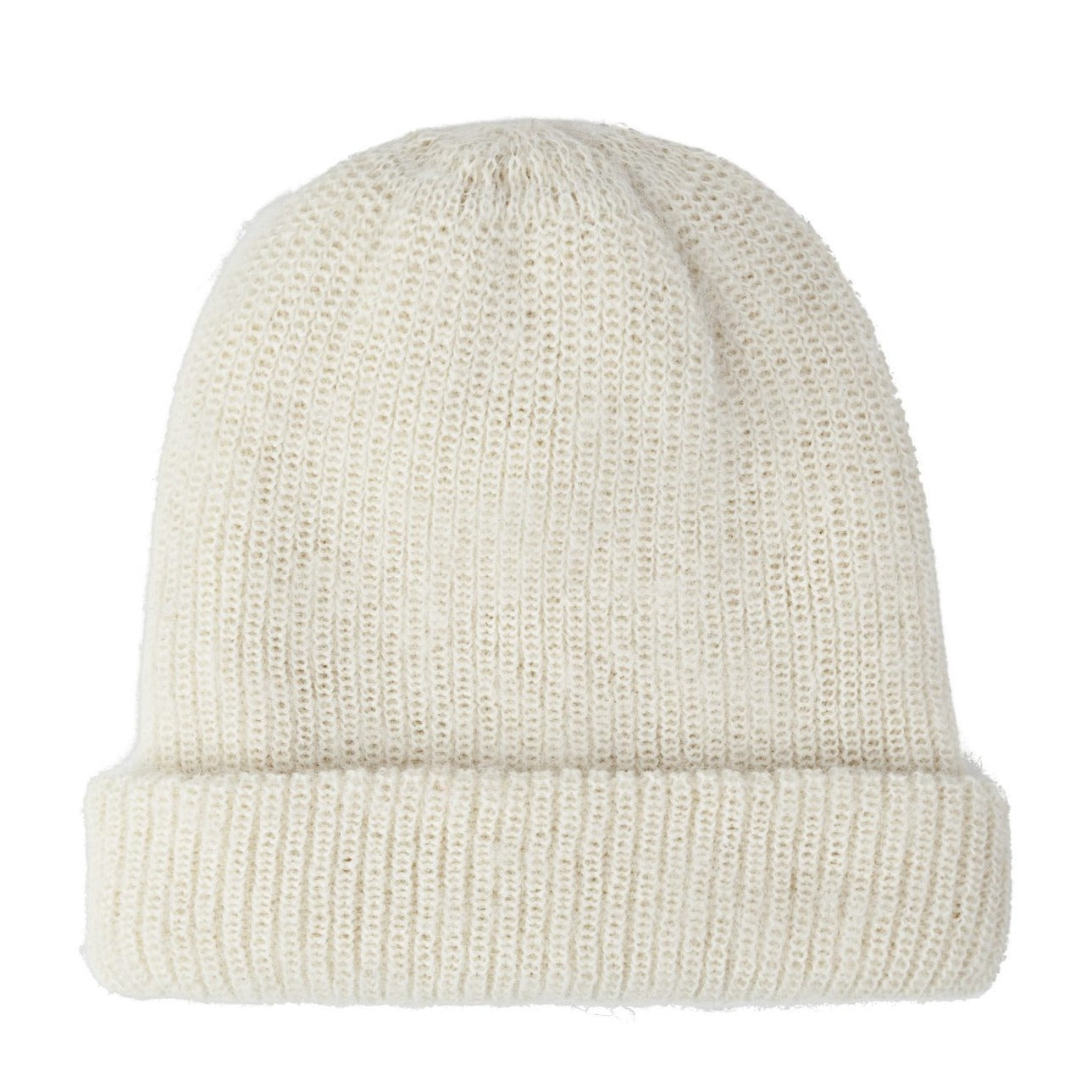 Knitted Hat Off White