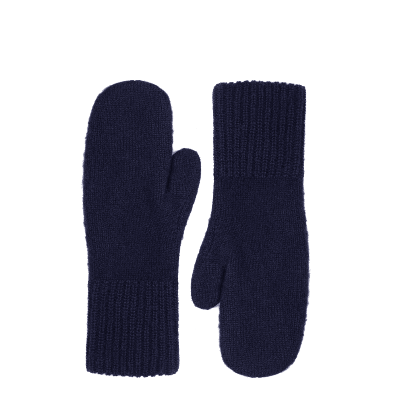 Knitted Mittens Navy