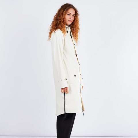 Original Raincoat Off White