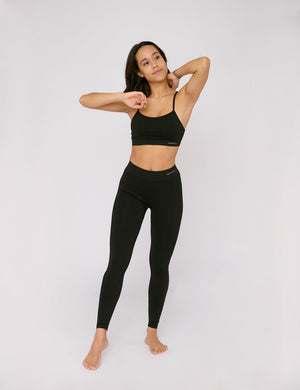 SilverTech™ Active Leggings  Black