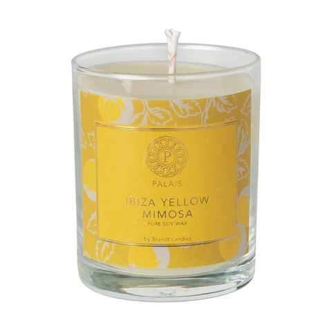 Scented Candle Ibiza Yellow Mimosa