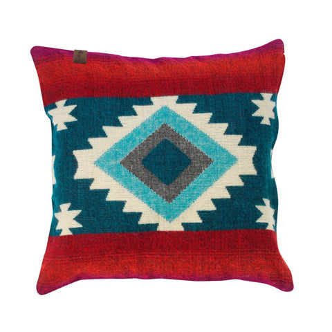 Native Pillow Case Blue