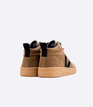 Roraima Suede Brown Black Gum Sole