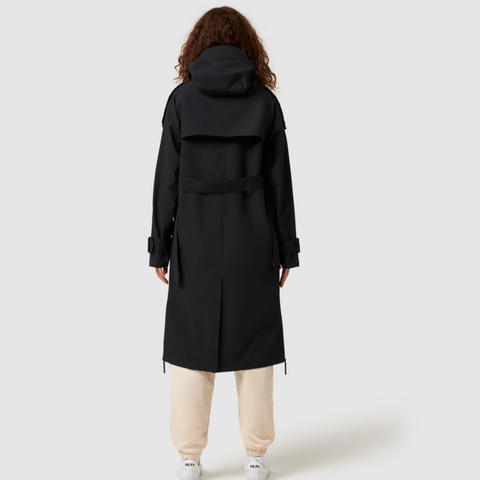 Trech Coat Black