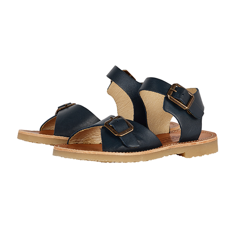 Junior Sonny Sandal Navy Leather