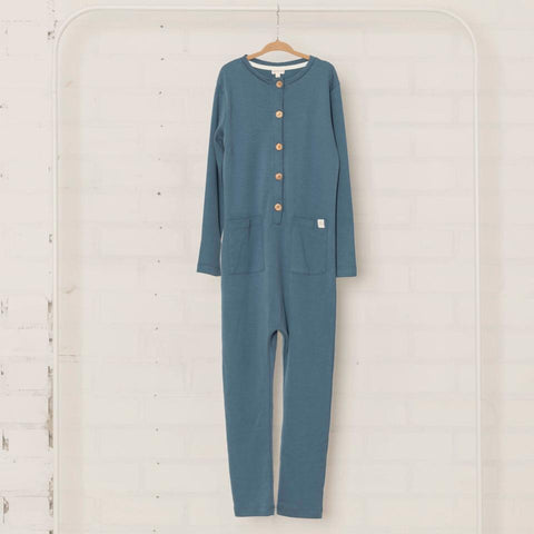 Onesie Bird Blue
