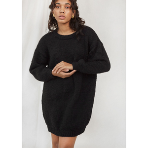 Leggy Sweater Dress