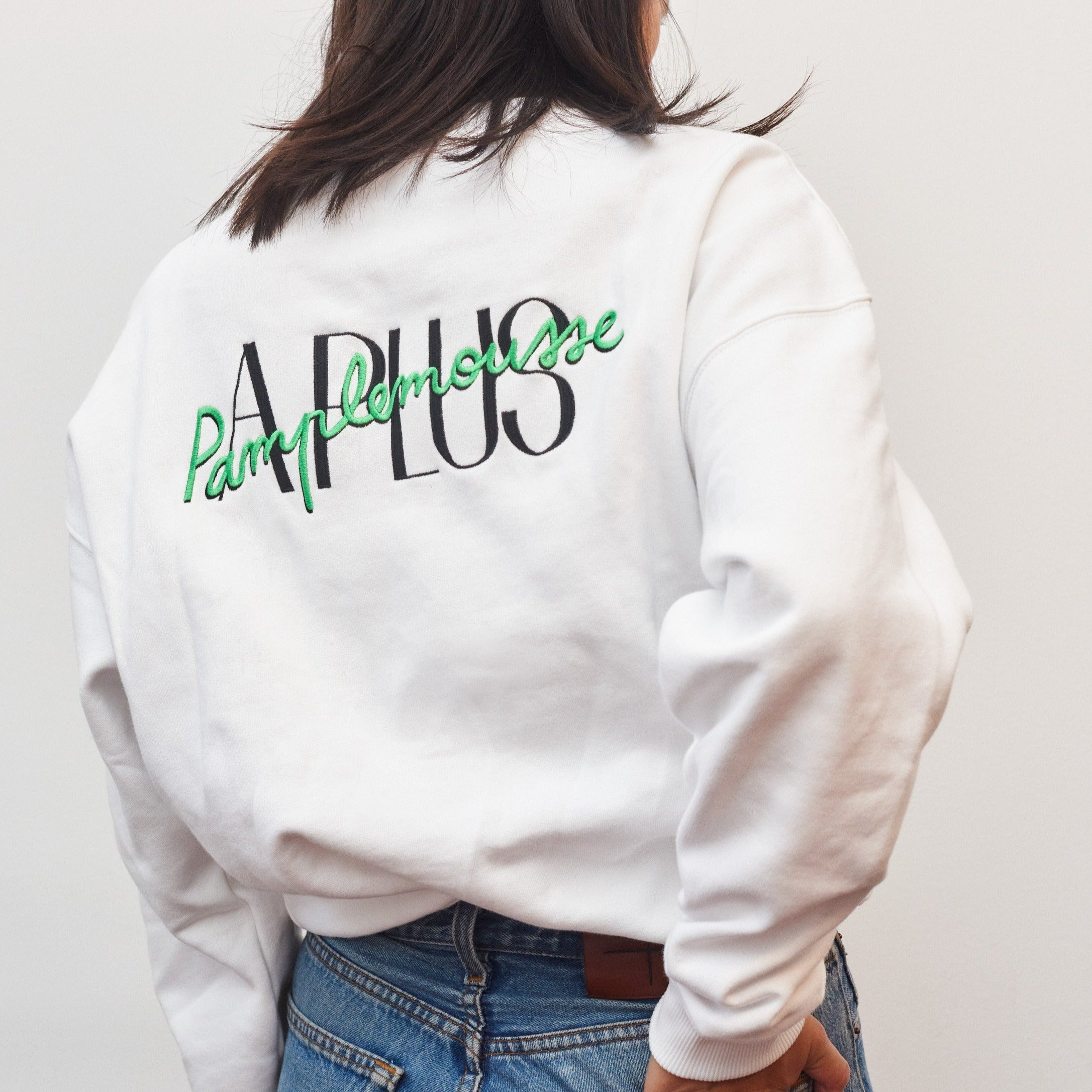 PRE-ORDER: A Plus Sweater White