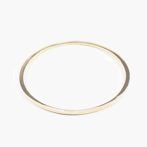 Wire Bangle Solid Bronze