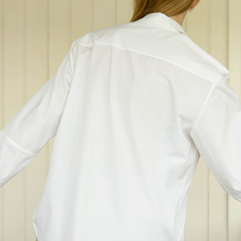 Organic Cotton Shirt White