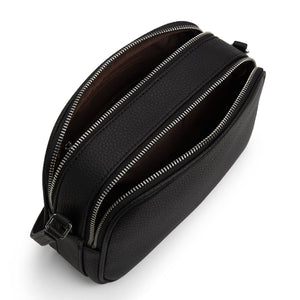 Pair Vegan Crossbody Bag Black