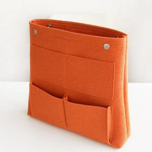Bag in Bag Felt Casual Travel Multi-pockets Storage Bag Liner Package Cosmetic Bag