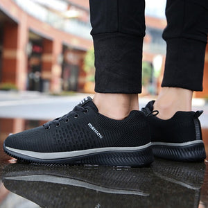 Casual Lightweight Mesh Running Shoes For Men