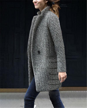 Elegant Thicken Winter Cotton Warm Coats