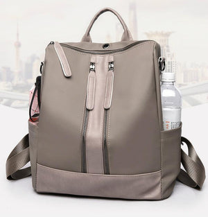 Women Oxford Cloth Shoulder Bag Travel Waterproof Backpack
