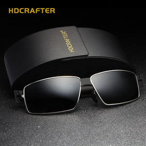 Fashion UV400 Driver Polarized  Vintage Pilot Sun Glasses