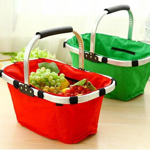 Multifunctional Storage Basket Folding Basket Shopping Basket