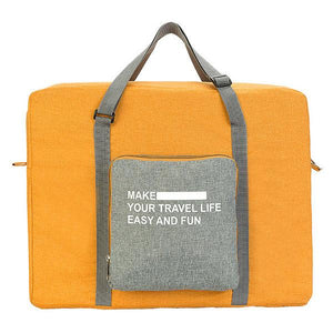 Travel Folding Handbag Clothing Storage Bag Waterproof Bag