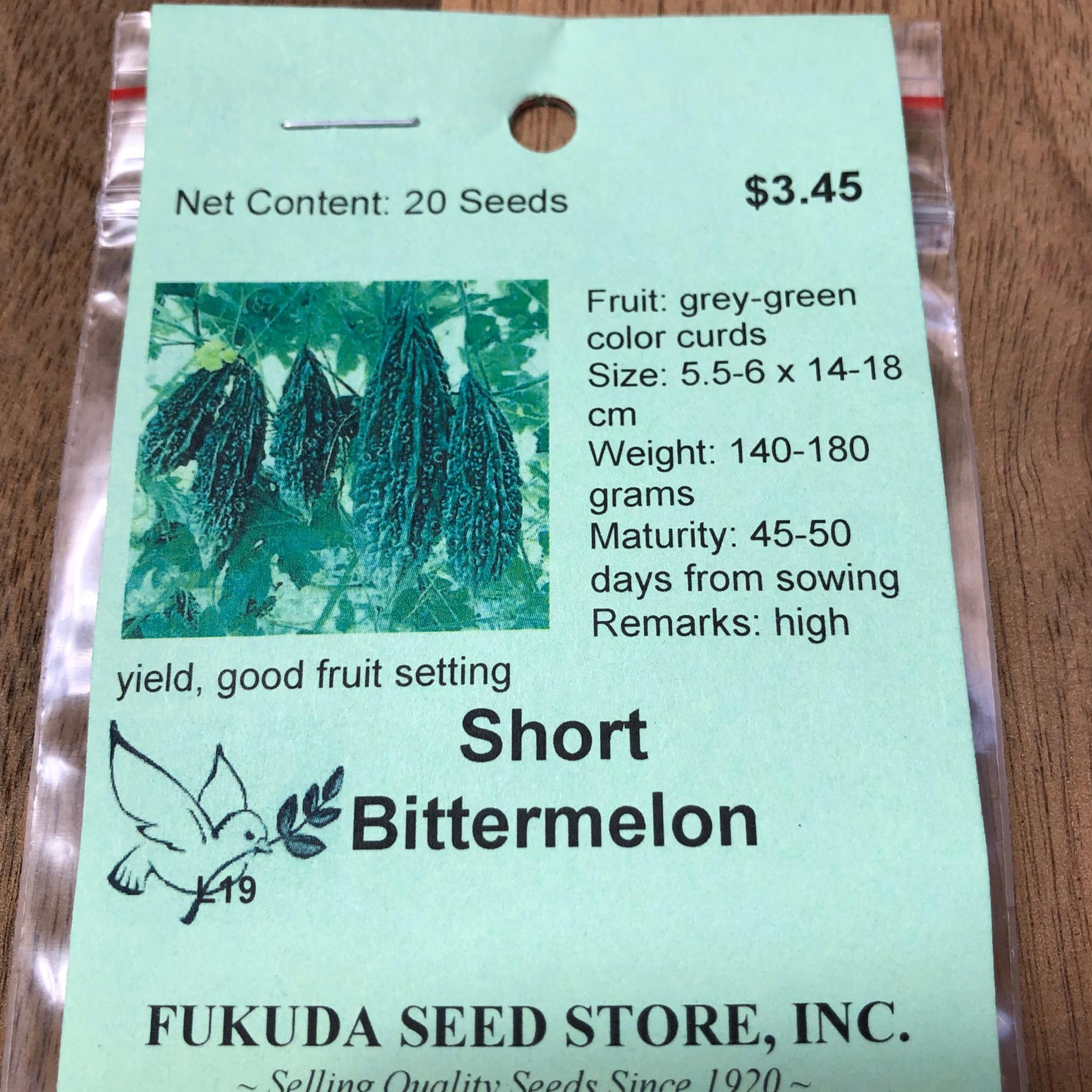 Bittermelon, Short