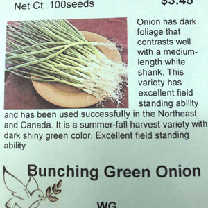 Bunching Green Onion