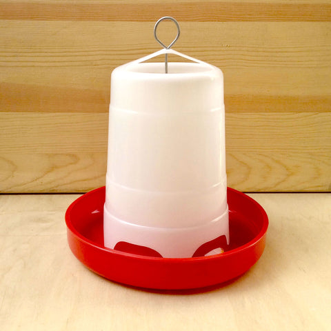 Plastic Hanging Feeder -3 sizes - holds 3lbs, 11lbs, 22lbs