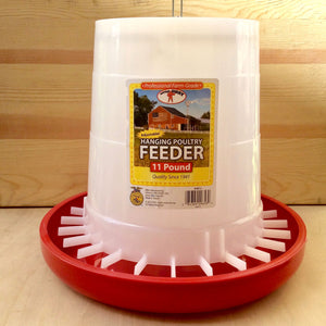 Plastic Hanging Feeder - holds 22lbs