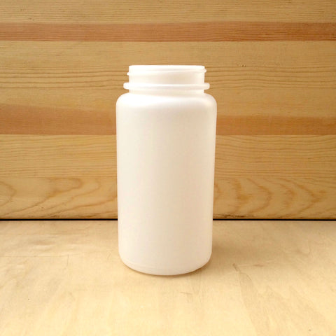 Plastic 1-quart jar